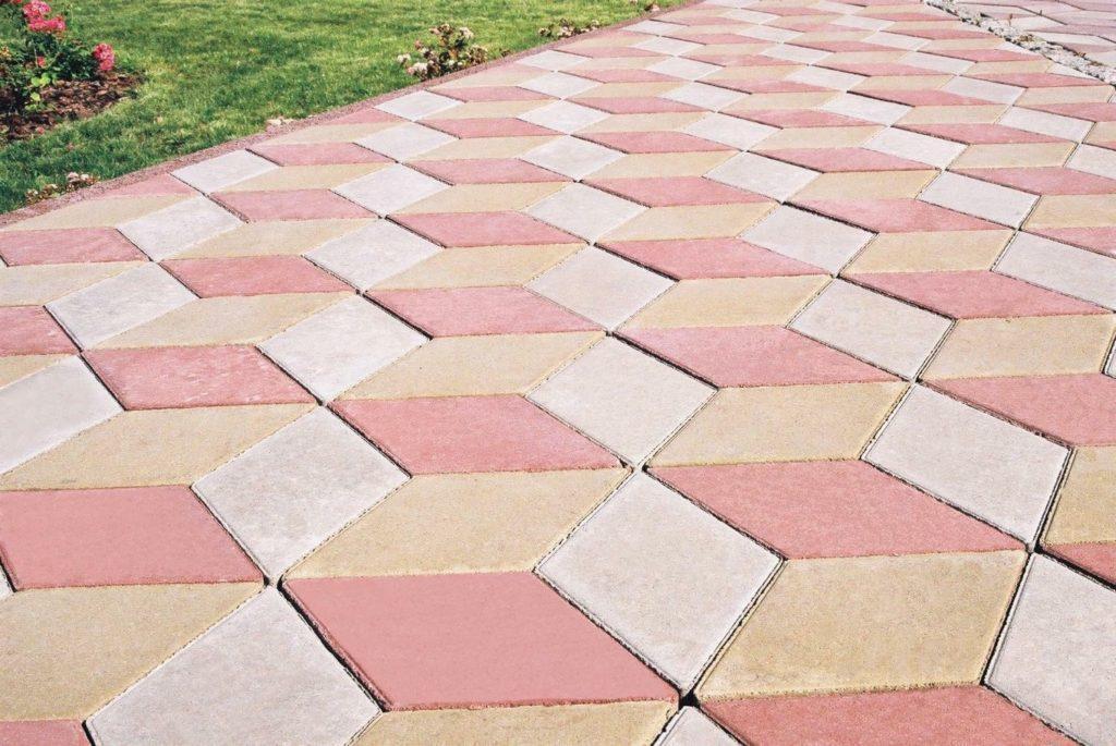 Тротуарная плитка: виды, преимущества и характеристики