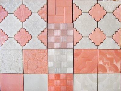 формы плитки