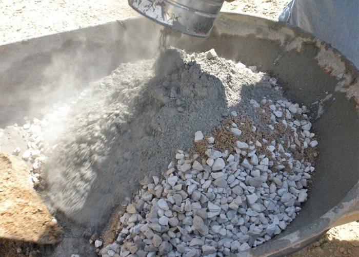 мешает бетон