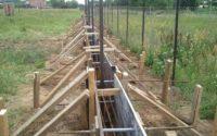 опалубка для ленточного бетонирования