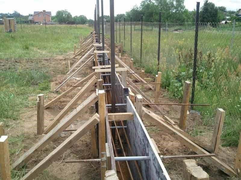 бетонирование столбов своими руками