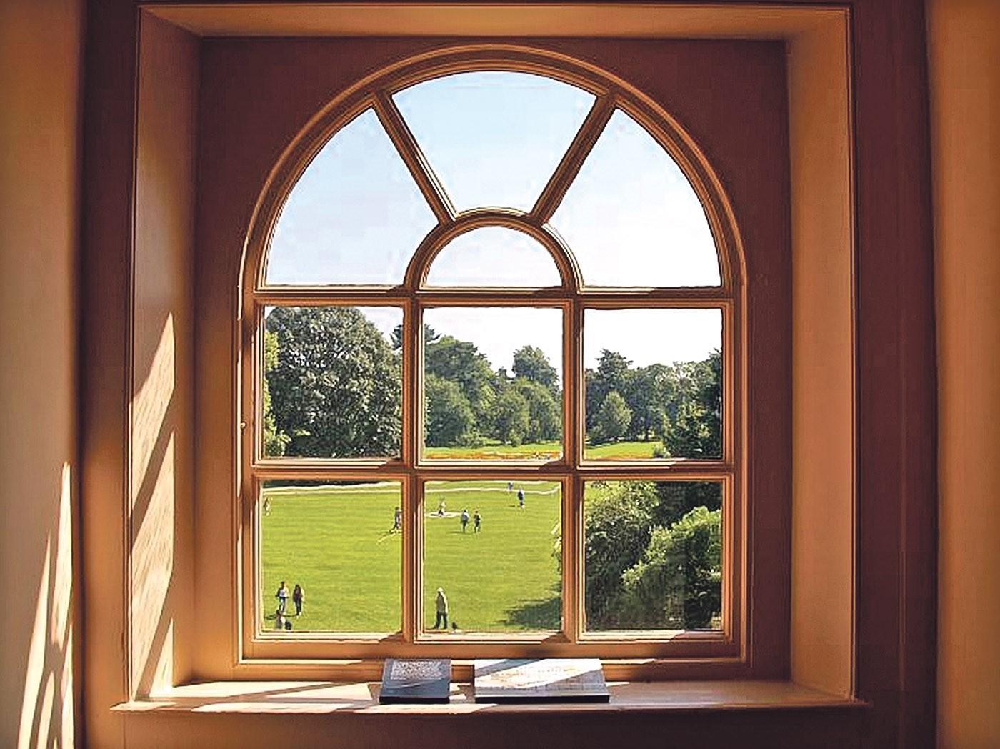 окно арка