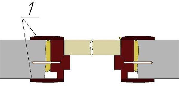 установка наличника по ширине