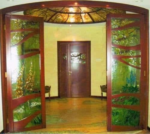 двери сатинат