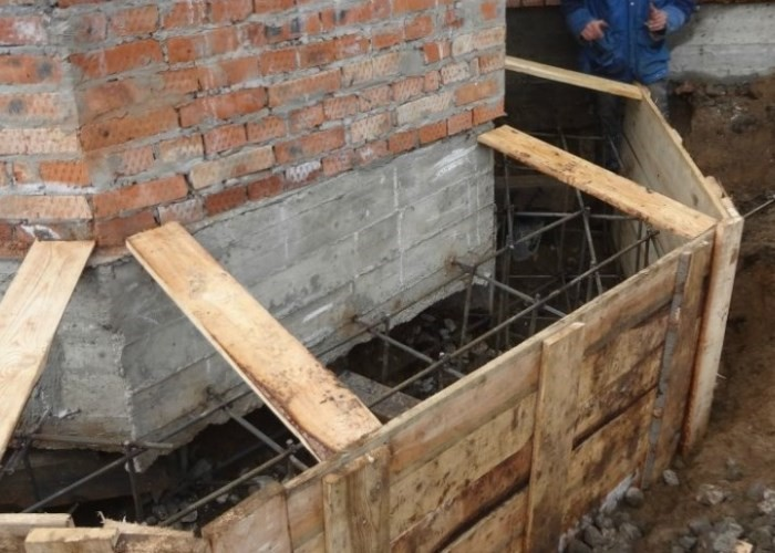 укрепление бетоном