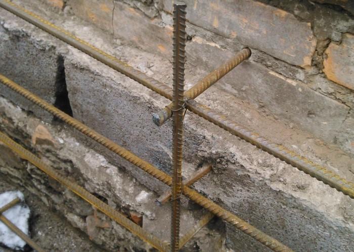 укрепление бетона арматурной сеткой