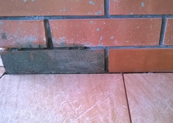 очистить кирпич от цемента