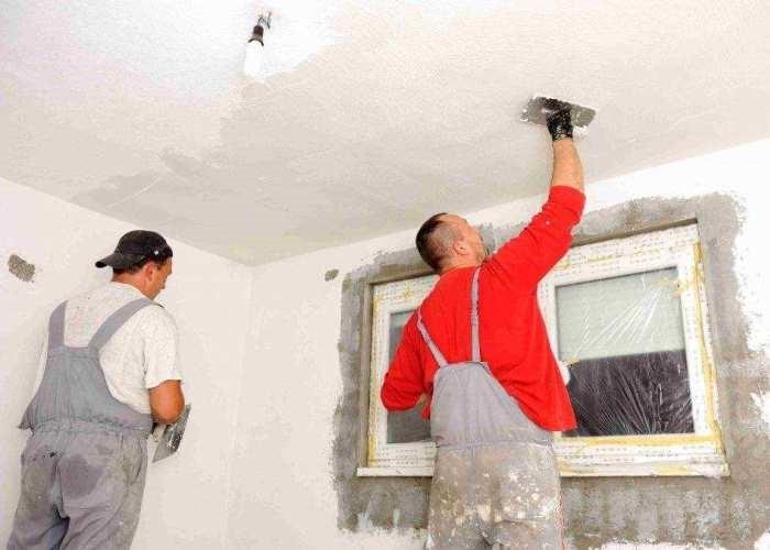 шпаклевать потолок