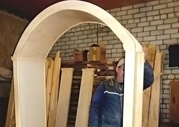 арка своими руками