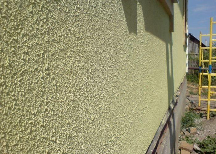 Отделка фасадов домов фото с штукатурки
