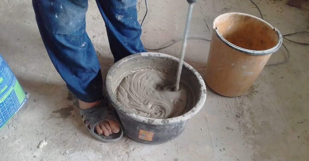 Приготовление штукатурных растворов своими руками 313