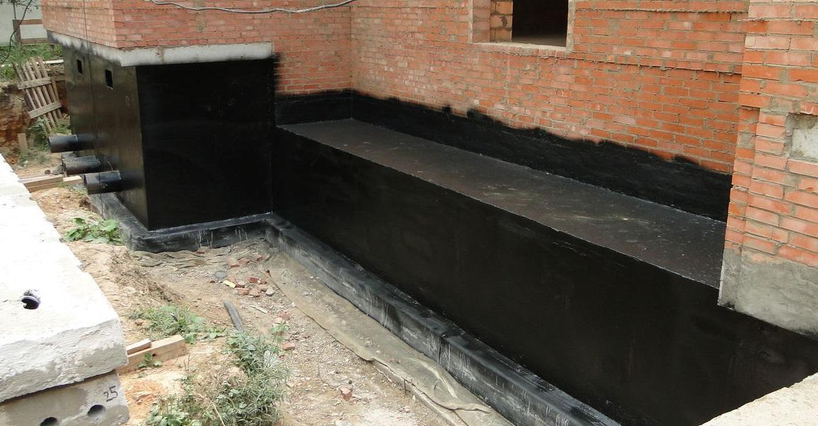 гидроизоляция снаружи здания