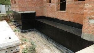 гидроизоляция кирпичной стены