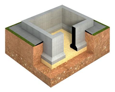 монолитный фундамент