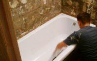 Ремонтируем акриловую ванну своими руками