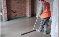 бетон для стяжки пола пропорции