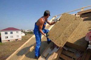 Утепление крыши мансарды снаружи