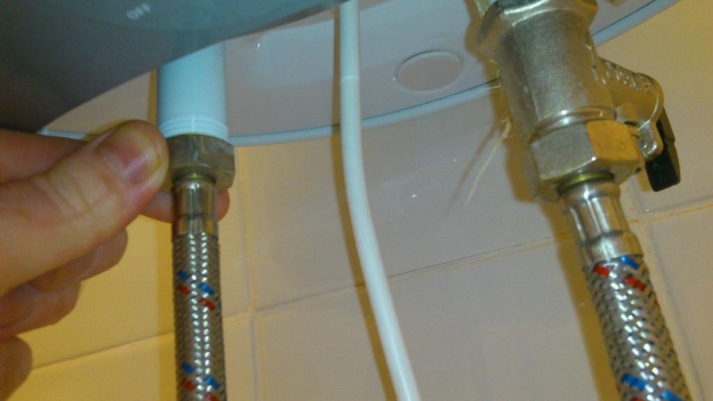 подключение водонагревателя к водоснабжению