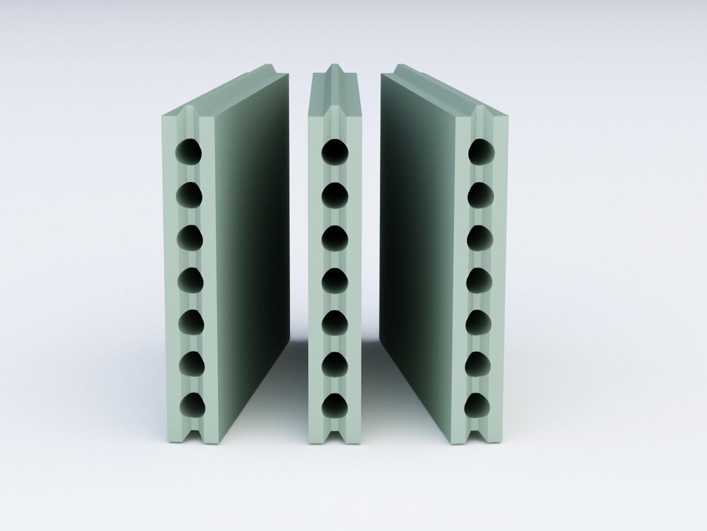 Пазогребневые блоки