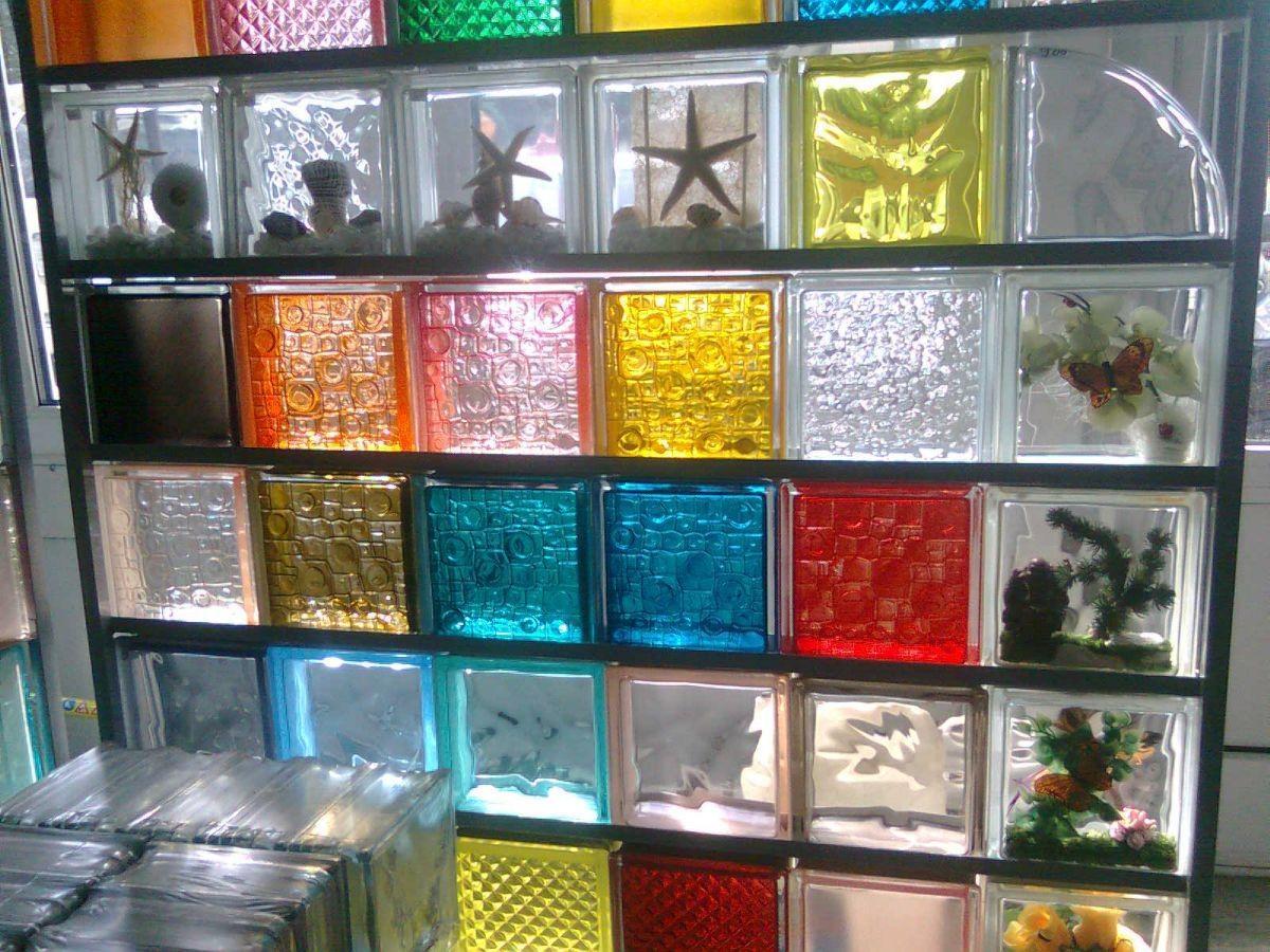 стеклоблоки для перегородок