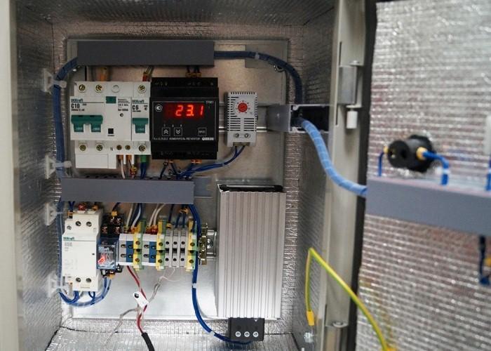 блок управления нагревательного кабеля