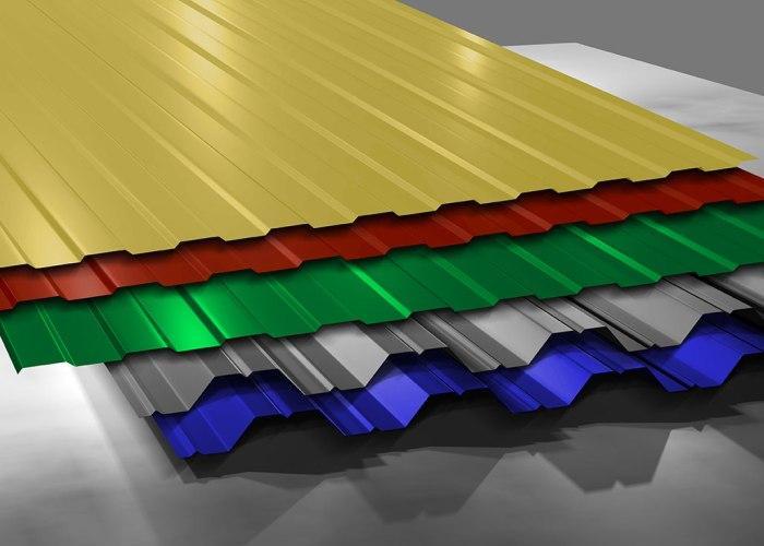 волновой металлический шифер