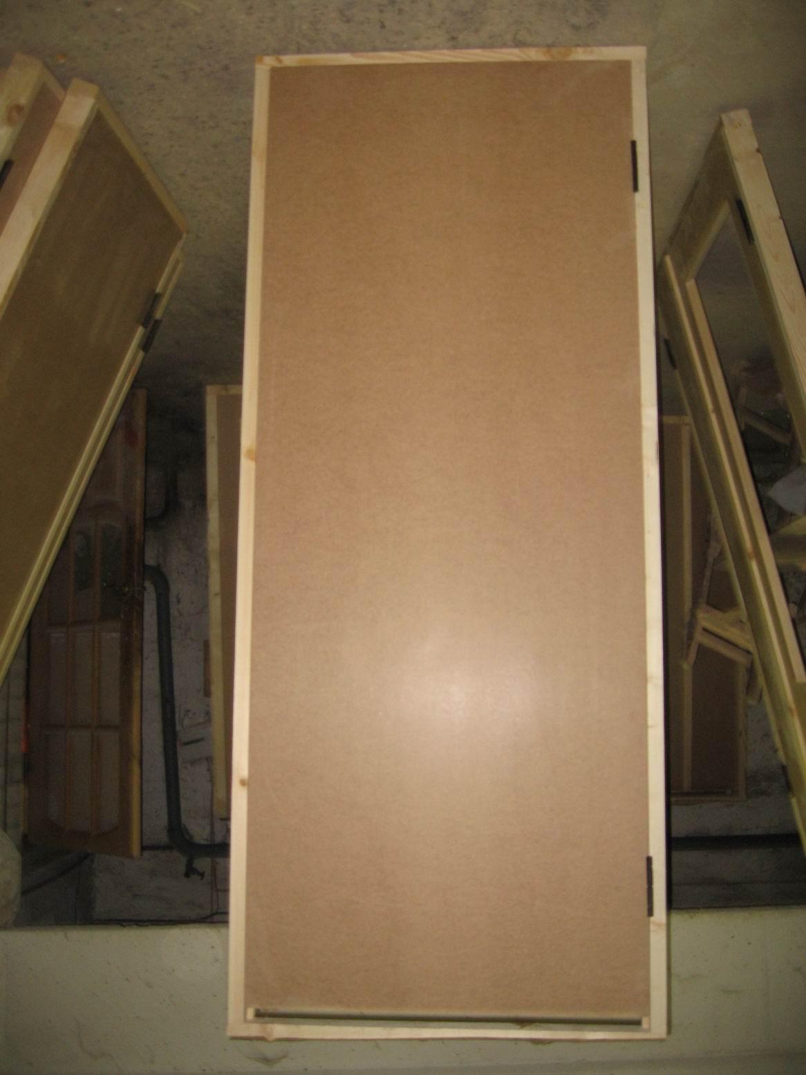 коробка двери из фанеры