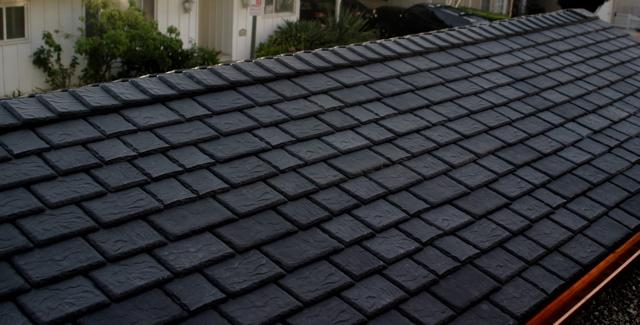 плоский шифер на крыше