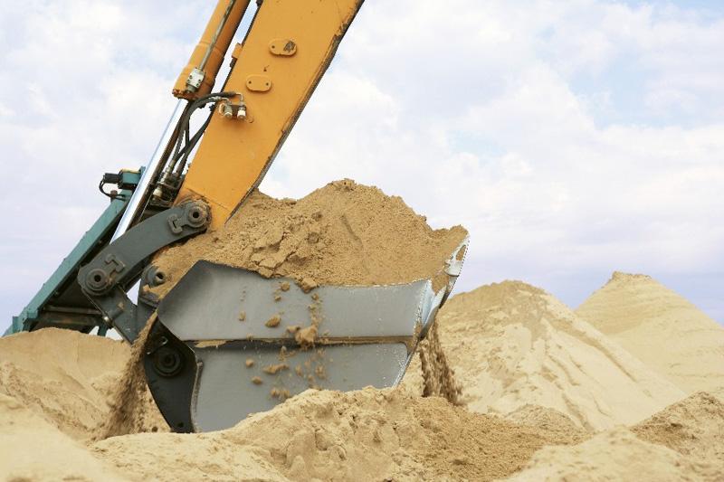 песок из карьера