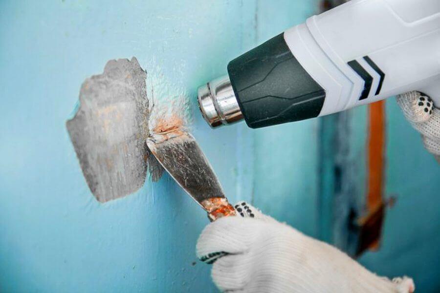 Подготовка двери перед покраской