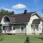 Ломанная крыша мансардной