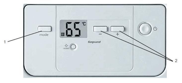Электронный блок регулировки температуры