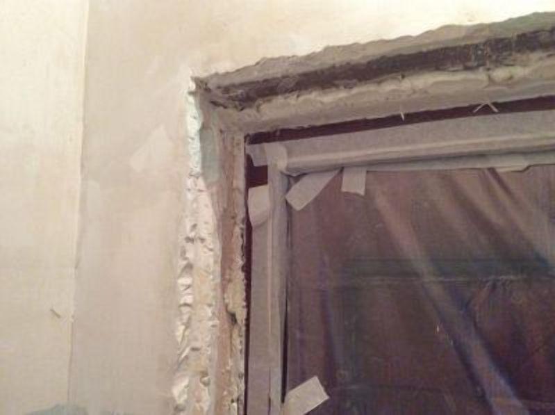 Подготовка дверного проема для оштукатуривания
