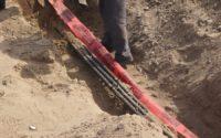 Прокладка кабелей под землей