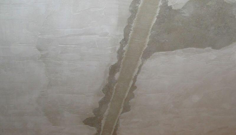 Штукатурка стыков между плит