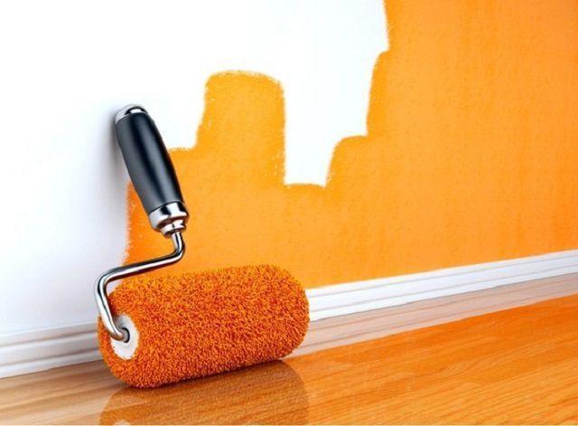 Матовая краска для стен в квартире