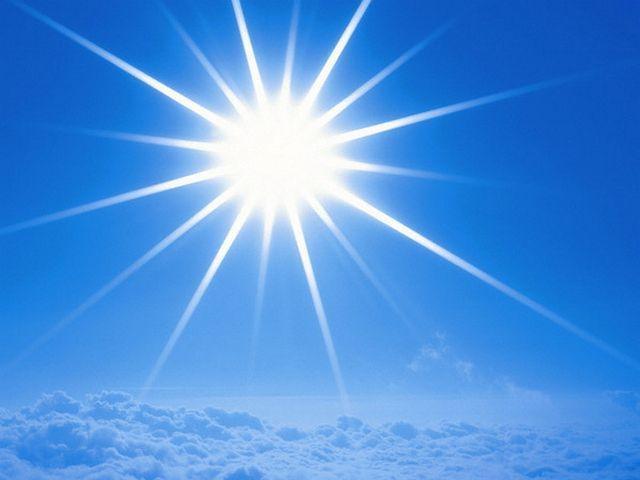 Ультрафиолетовые лучи солнца