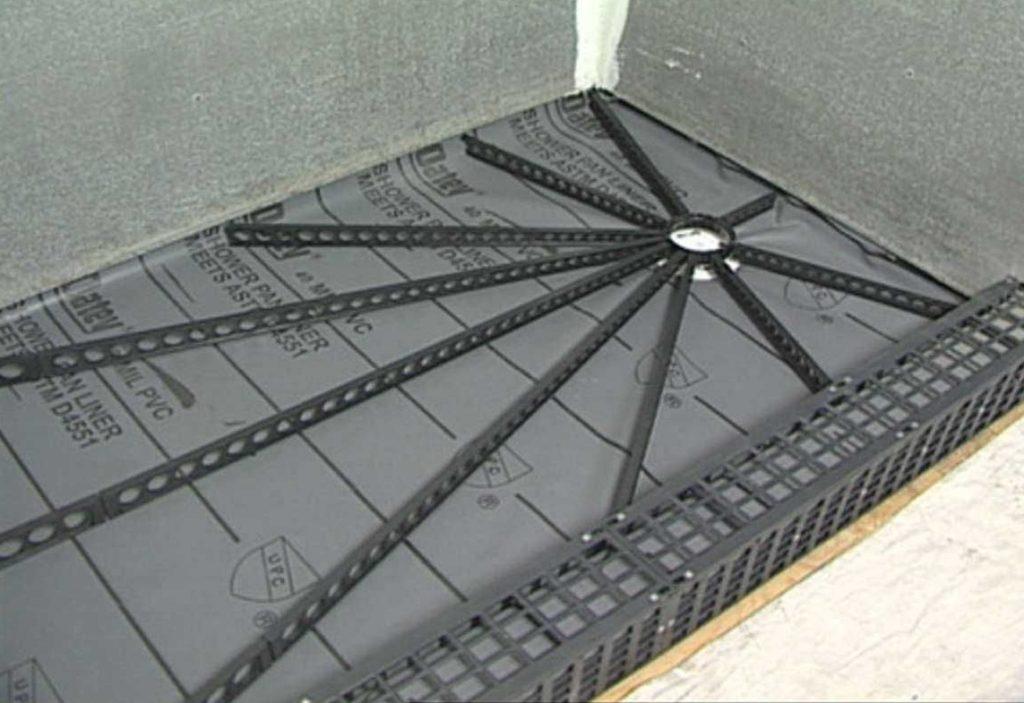 Металлический профиль для устройства паоддонна