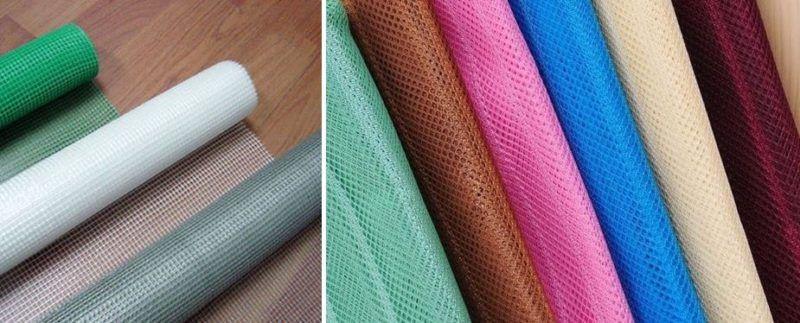 Рулоны москитной сетки