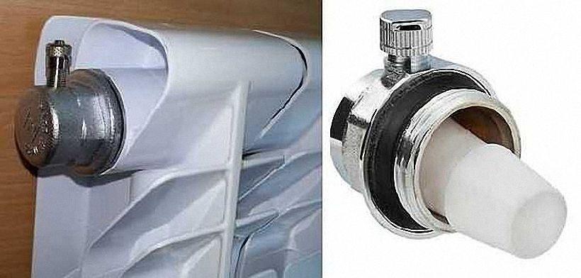 Автоматический воздушный клапан для отвода воздуха