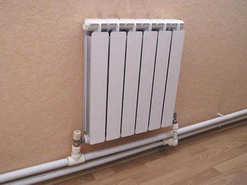 Седельное подключение отопление