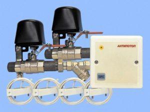 Особенности защита от протечки воды системы Антипотоп