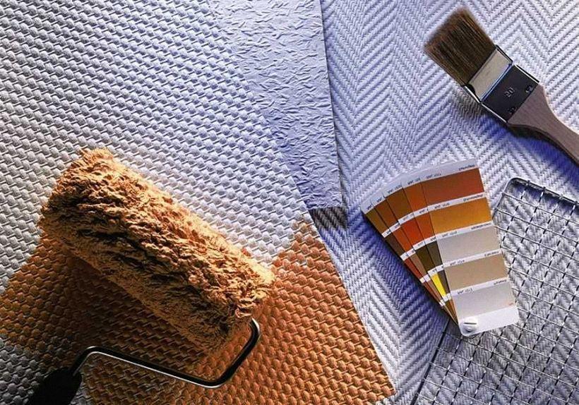 Необходимые инструменты и материалы для поклейки стеклообоев