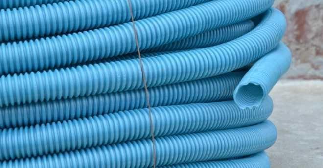 Труба гофрированная кабеля и проводки