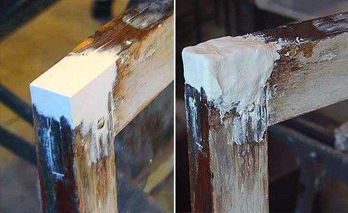 шпаклевка деревянных окон