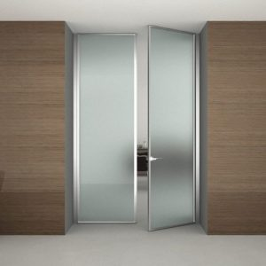 Межкомнатные двери из стекла своими руками