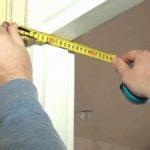 Размеры дверных проемов своими руками