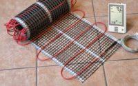 Тёплый пол электрический кабельный