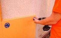 Как просто прикрепить пеноплекс к стене своими руками