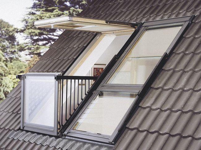 окно балкон